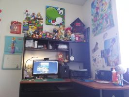 My room setup as of 8/17/15 by SuperRetroBro