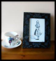 Alice in Wonderland Drawings 6 by TheJinMu