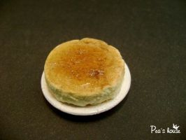 minifood: soft cheesecake ( japanese style) by lovely301090