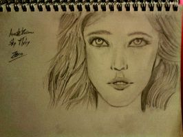 Chanel Celaya : Sketch by LelouchArt