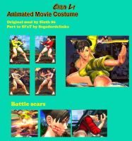SFxT Mod - Chun Li: Animated Movie by Segadordelinks
