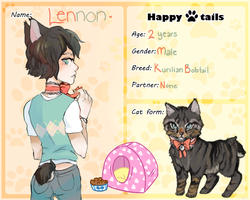 Happy Tails- Lennon! by Paper-Cities