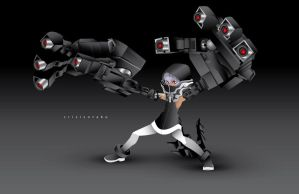 Strength - Black Rock Shooter by yourcris