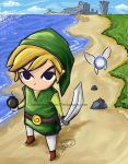 The Wind Waker by Courtney-Crowe