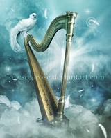Heaven's Harp by EnchantedWhispersArt