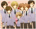 +KISS KISS+ ouran host club by Starlight-Usagi