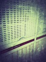 044 Timetable by DistortedSmile