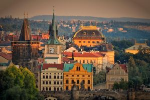 Evening Prague by tomsumartin