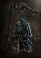 Draugr Equipment by A-Pancake