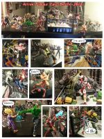Action Figure Battle Round1 by FooRay
