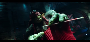 Raph knitting by DonnieTheTurtle