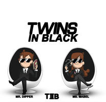 Twins in Black by JoanaTiago