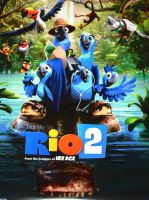 My new RIO 2 poster by HomeOfBluAndshadows