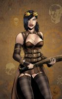 Steampunk Cassie hack by seanforney