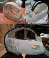 Bane Mask Progress 1 by OhJayzuz