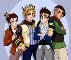 Ever After boys by sparks220stars