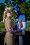Ben Reilly's Captain Spider-Man And War Time Gwen. by joker99xdraven