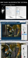 Ses' easy blood tutorial by T0xicEye