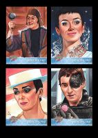 Unstoppable Cards BLAKES 7 Series 1 Batch #8 by MJasonReed