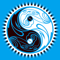 Tribal Yin Yang by cow41087