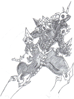 Unfinished Monster X Redesign by Dragga