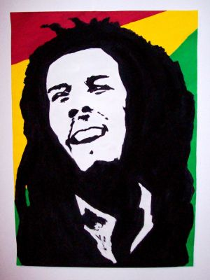 Bob Marley by blackcatsonya