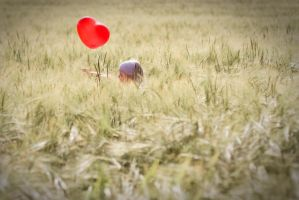 me and my red balloon by riskonelook