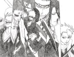 Bleach chapter 469 Cover by PeachBerryDivision