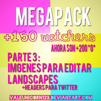 Megapack +150 watchers - Awesome *O*.....Parte 3 by ValeUnicorn123