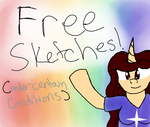 FREE SKETCHES (under certain conditions) by Musical-Medic