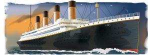 Titanic done in illustrator. 4 hrs 1 layer. by Treflipsd1
