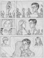 Harry and Ginny first kiss by talita-rj