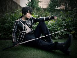 Kirito cosplay ID by dark1110
