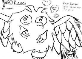 Winged Kuriboh Loves 4chan h by BlooDaBeast