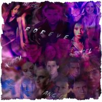 characters of angel and buffy by alixana