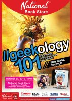 Geekology 101 -- The Book Launch by jaytablante