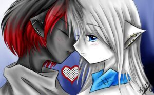 ...kiss by Youki