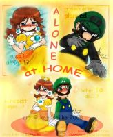 Mario: Alone at Home - Cover by saiiko