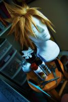 Cloud Strife wig commission by maggifan