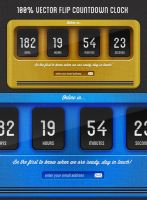 Flip Countdown Clock by Nyz87