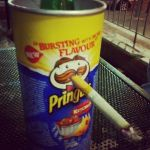 smoking pringles by xXxKoTxXx