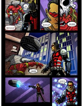 Salt and Ignite Issue 1 page 3 by newmythcomics