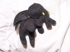 Cthulhu Felt Plushie by relsgrotto