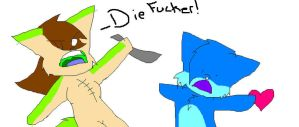 DIE FUCKER by madithewulf