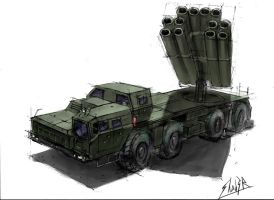 Smerch Rocket Launcher by Shad3R