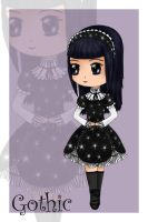 Gothic Lolita by evalesco5