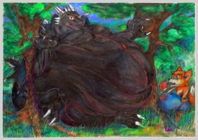 Keiros master of overweight by SSsilver-c