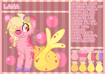 REF: Lana the Coral Cat by LittlePinkAlpaca