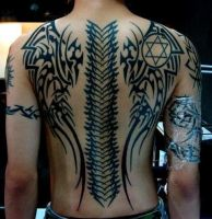 Tribal Wings Backpiece by nicotino14