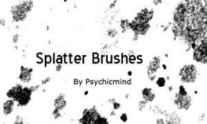 Splatter Brushes by psychicmind